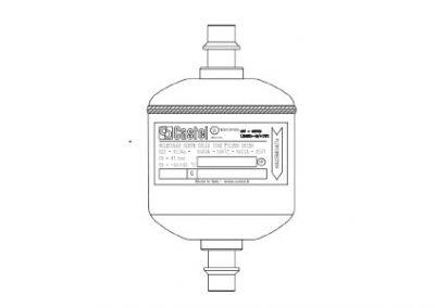 Castel filterdroger 4303E