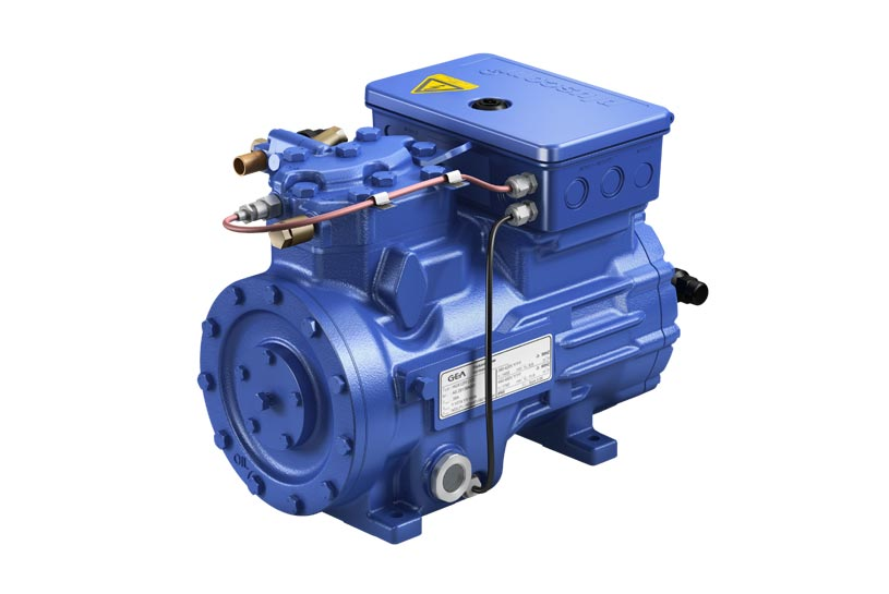 GEA-Bock HGX12E CO2 compressor