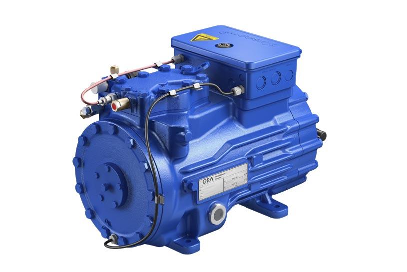 GEA-Bock HGX22E CO2 compressor