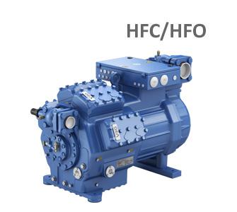 GEA-Bock Semi hermtetische comporessoren voor HFC/HFO