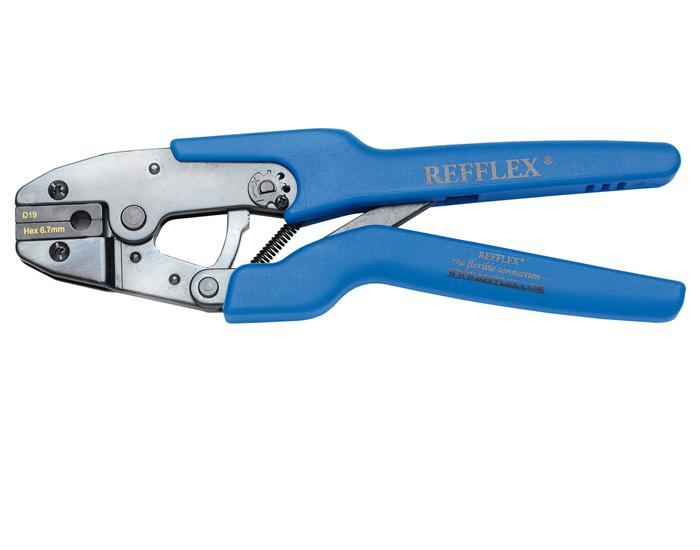 Refflex Hand held crimping tool