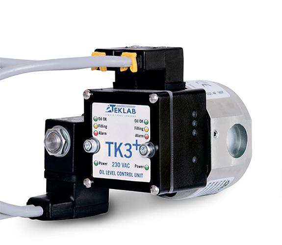 Teklab elektronische olieniveauregelaar TK3+